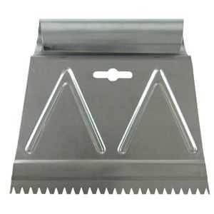 Richard Tools CS-6 3/16 6 in Adhesive Spreader, V Notch