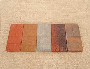 St. Vrain Block 12040 Brick Face Paver 2x8x16 Tan