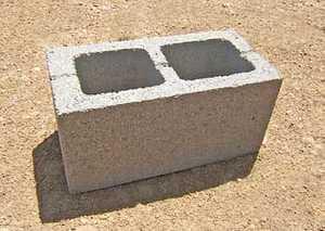 St. Vrain Block 21110 Concrete Block 8x8x16 Gray
