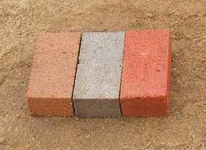 St. Vrain Block 11520 21/4 Paving Brick 4x8 Red