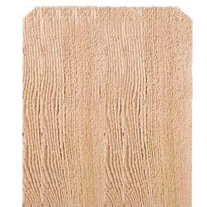 Sutherland Lumber 1X12 6 1x12 6 ft Dog Ear Cedar Fence Board
