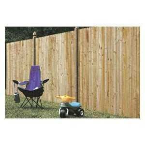Universal Forest 4455 1x6 Privacy Fence Section
