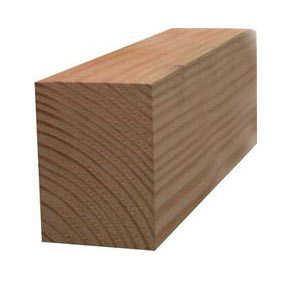 Sutherland Lumber 4X6 8 4x6 8 ft #2&Btr Green Doug Fir S4s Lumber