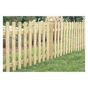 Universal Forest 5658 1x4 Spaced Picket Fence Section
