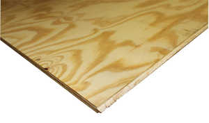 Sutherland Lumber 4X8 4x8 23/32 Apa T&g Underlayment Plywood