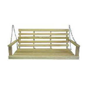 Beecham 55555 Oak Porch Swing 5 ft