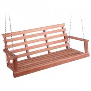 Beecham 55557 Flat Bottom Poplar Porch Swing