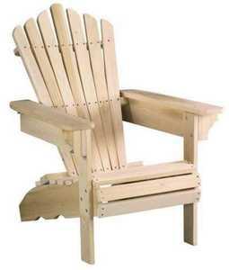 Beecham 66661 Wood Adirondack Chair Poplar