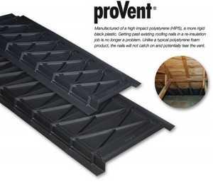 ADO Products UPV1448050 ProVent Attic Chute Rigid Plastic
