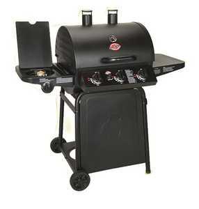 Char-Griller 3001 Grillin' Pro Lp Grill 630 Square Inches