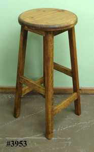 Rustic Pine Furniture 3953 30 in Rustic Pine Seat Stool