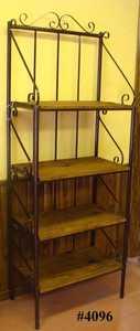 Rustic Pine Furniture 4096 Betsys Baker Rack