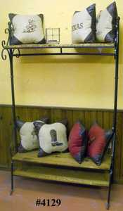 Rustic Pine Furniture 4129 Mud Room Rack