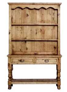 Rustic Pine Furniture 432 72 in Open Base Buffet