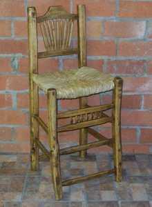Rustic Pine Furniture 1059 30 in Peeled Pine Barstool