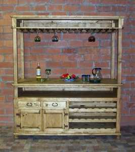 Rustic Pine Furniture 2765 Tina's Cantina