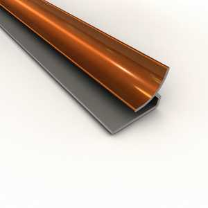 Acoustic Ceiling Products 928-26 18 in Oil-Rubbed Bronze Inside Corner Trim