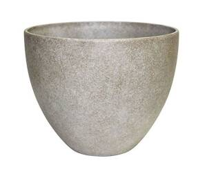 Southern Patio HDR-012313 10 in Hdr Egg Planter Bone