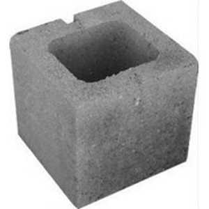 ABC Block Company 010804B 8 In X 8 In X 8 In Half Sash Block