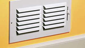 Accord Ventilation ABSWWH1C106 1-Way Sidewall /Ceiling Register 10x6