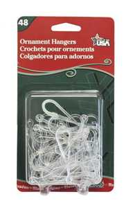 Adams Manufacturing 4100991040 Ornament Hanger 12pk