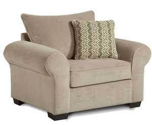 Affordable Furniture 7310 Chevron Seal Chair And A Half