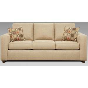 Affordable Furniture 3603 Vivid Biege Stationary Sofa