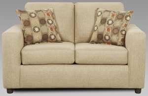 Affordable Furniture 3602 Loveseat Vivid Beige