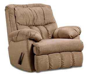Affordable Furniture 2500 Sensations Microfiber Recliner In Camel
