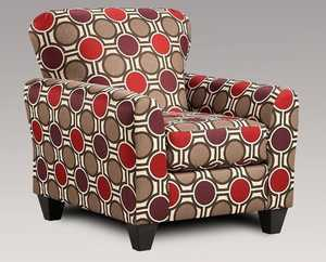 Affordable Furniture 9001 Mocha Accent Chair