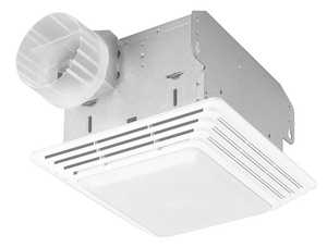Broan-Nutone 678 50-Cfm Economy Bath Fan With Light