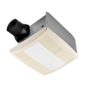 Broan-Nutone QTR110L Fan/Light/Nightlight 110cfm U Sl