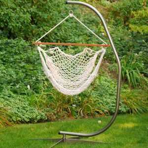 Algoma Net Co. 6817 Cotton Rope Hanging Chair