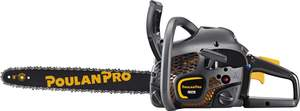 Poulan Pro 967063801 18-Inch 42cc 2-Cycle Gas Chainsaw