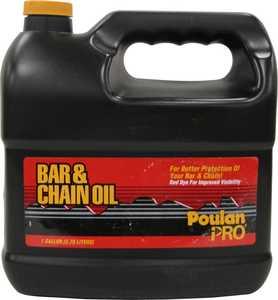 Poulan Pro 952030130 Bar And Chain Oil 1-Gallon