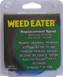 Weed Eater 952711551 Trimmer Line Spool Featherlite .080
