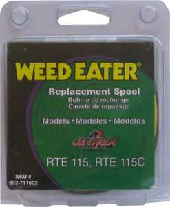 Weed Eater 952711602 Trimmer Line Spool Rte115