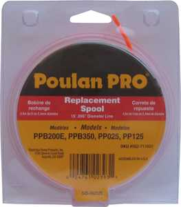 Poulan 952711631 Trimmer Line Spool For Pp125 0.95 in
