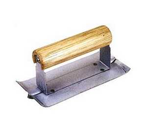 MintCraft 16900 3 x 6-Inch Steel Cement Groover With Wood Handle