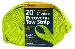 Cargoloc 82497 20 ft 2 in Wide Recovery/Tow Strap