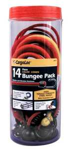 Cargoloc 84075 14pc Color Coded Bungee Pack