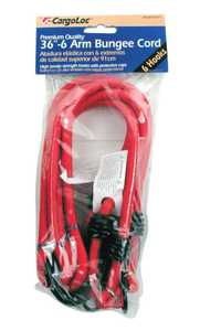 Cargoloc 62371 36 in -6 Arm Bungee Cords