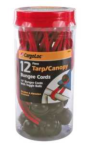 Cargoloc 84094 12pc 10 in Tarp/Canopy Bungee Cords