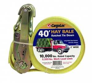 Cargoloc 82298 40 ft Hay Bale Ratchet Tie Down