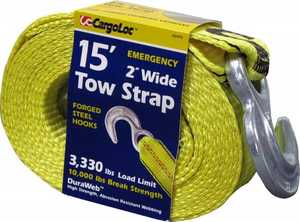 Cargoloc 82493 15 ft Tow Strap 2 in Wide