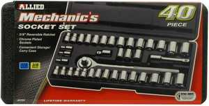 Allied Intl 86084 40 PC. SOCKET SET