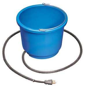 Allied Precision Industries Inc. 9HB 9 Qt Plastic Heated Bucket