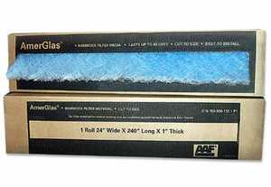 AAF International 150-888-112 30 x 240 x 1-Inch Hammock Fiberglass Hammock Air Filter Roll