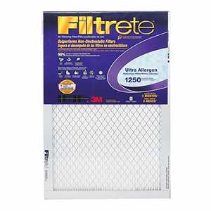 Filtrete 2001DC-6 16 x 25 x 1-Inch Ultra Allergen Reduction Filter