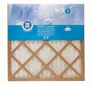 Protect Plus Air 225251 25 x 25 x 1-Inch True Blue Pleated Air Filter